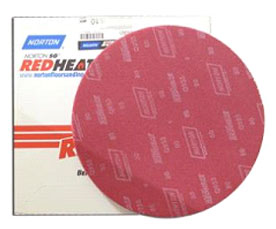 Norton Sand Screen 16 Red Heat 100 Grit