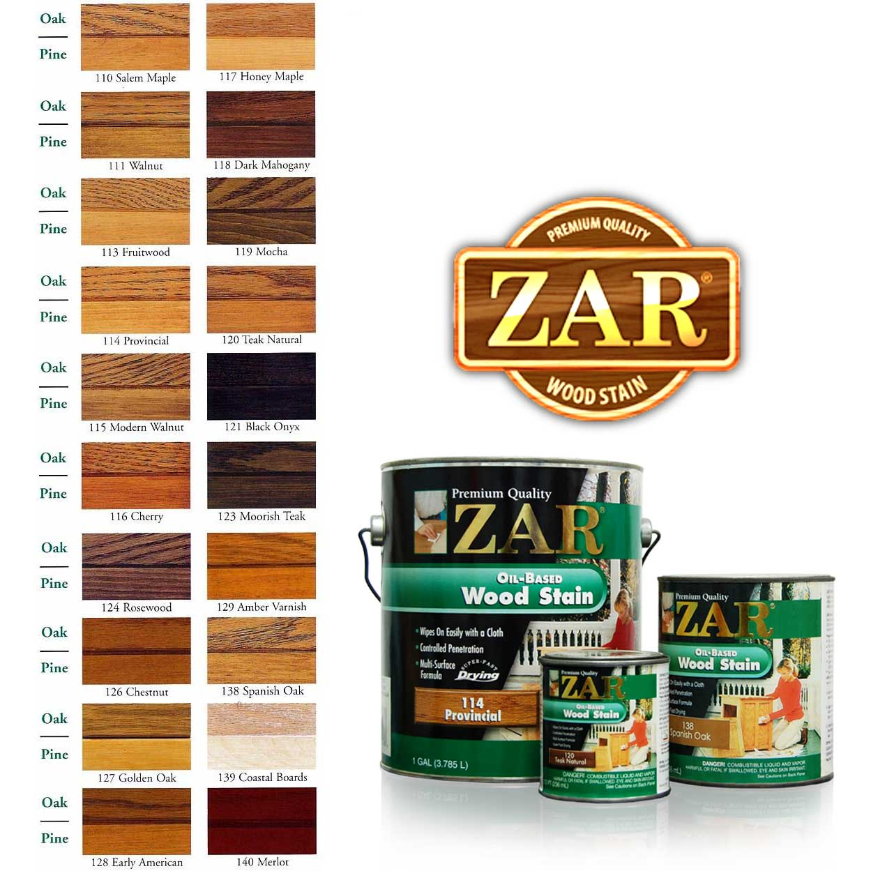Wood Stain Zar Wood Stain