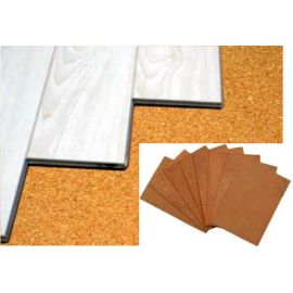 "Cork Underlayment Sheets - 1/4"" Thick"