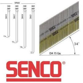SENCO DA 15 Gauge Angled Finish Nails - 1 3/4