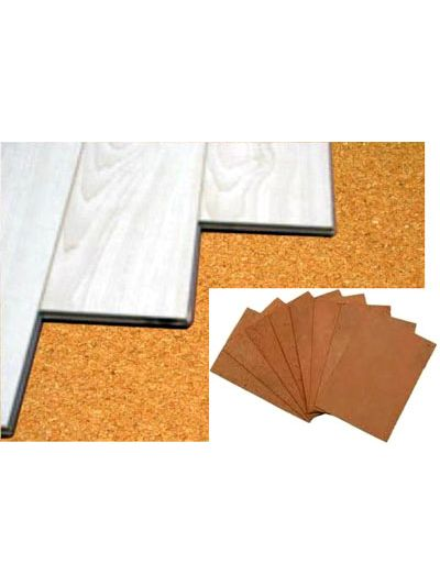 Cork Underlayment Sheets 1 2 Thick
