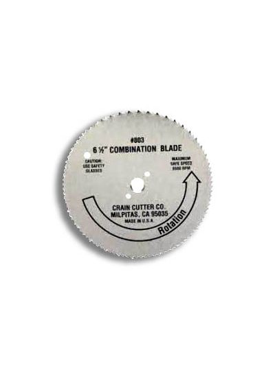 "Crain 803 6-1/2"" Combination Blade - Crain Saw Blade"