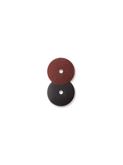 "Mercer Abrasives 7"" x 7/8"" Hole Edger Sanding Disc - Grit 80"