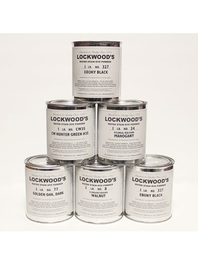 Lockwood Water Based Wood Dye Powder