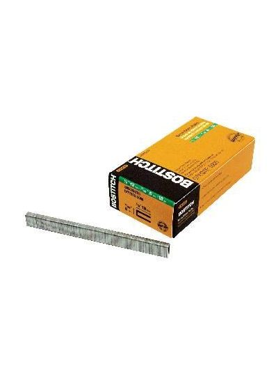 BOSTITCH SX Series 18 Gauge Narrow Crown Staples - 1/2