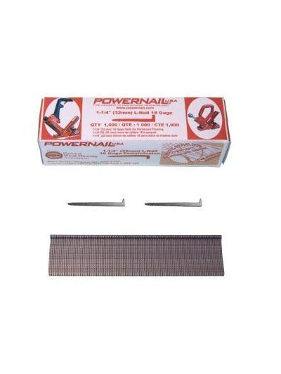 POWERNAIL POWERCLEATS 18 Gauge Flooring Nails - 1,000 Nails