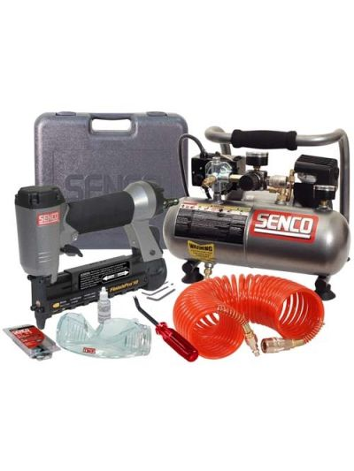 SENCO FinishPro 18 Nailer and Air Compressor Kit