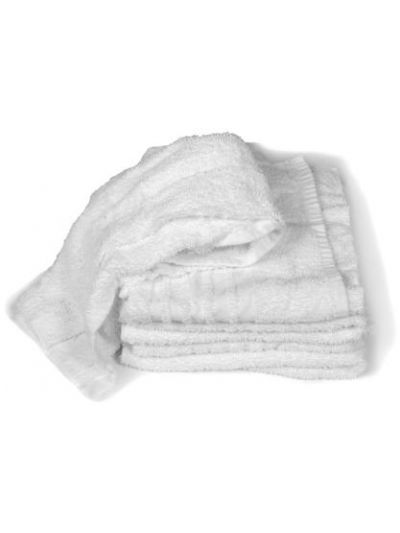 White Turkish Towel Rags - 10 lbs.